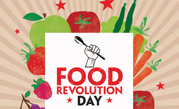 Celebrity Support For Jamie Olivers Food Revolution Day